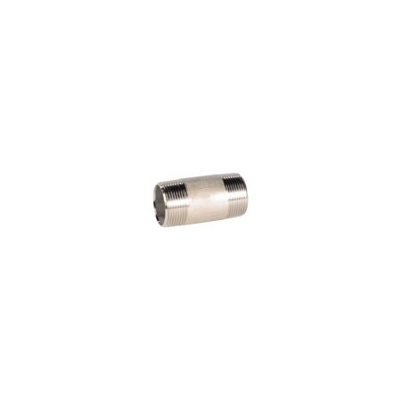 Raccords inox moulés - PN20 - Mamelon tube standard