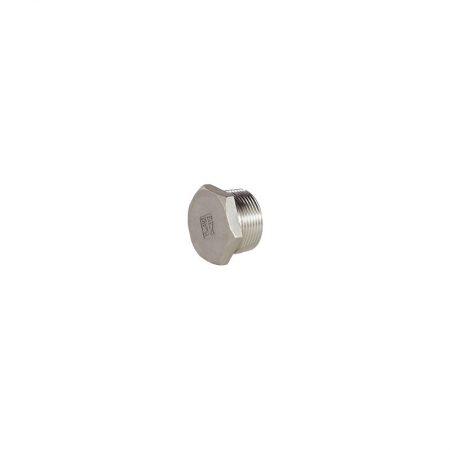 Raccords inox moulés - PN20 - Bouchon mâle hexagonal évidé